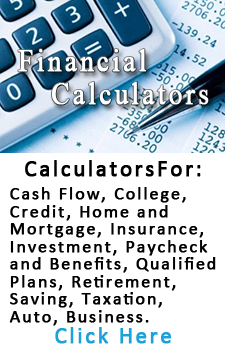 Financial Calculators Link